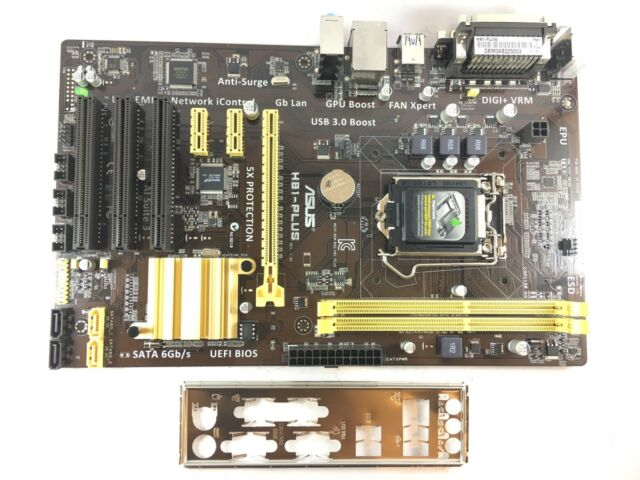 ASUS H81-PLUS Intel H81 Socket H3 (LGA 1150) ATX - Recondicionado